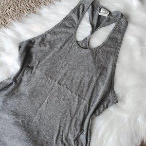 NEW PINK VS TWISTED RACER BACK GREY TANK
